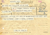 Telegram to the Rector
